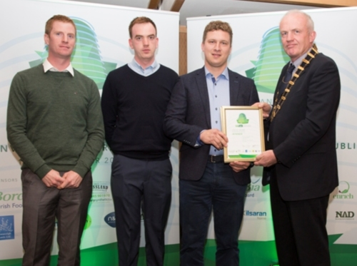 Brackley Landscape Services - Winner Design & Build Award
